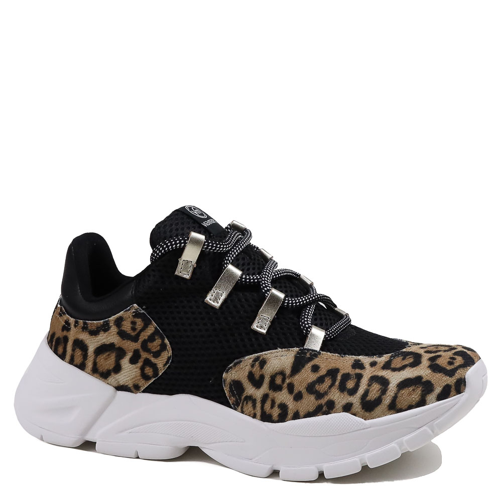 Tênis Casual Via Marte Animal Print 19-12102