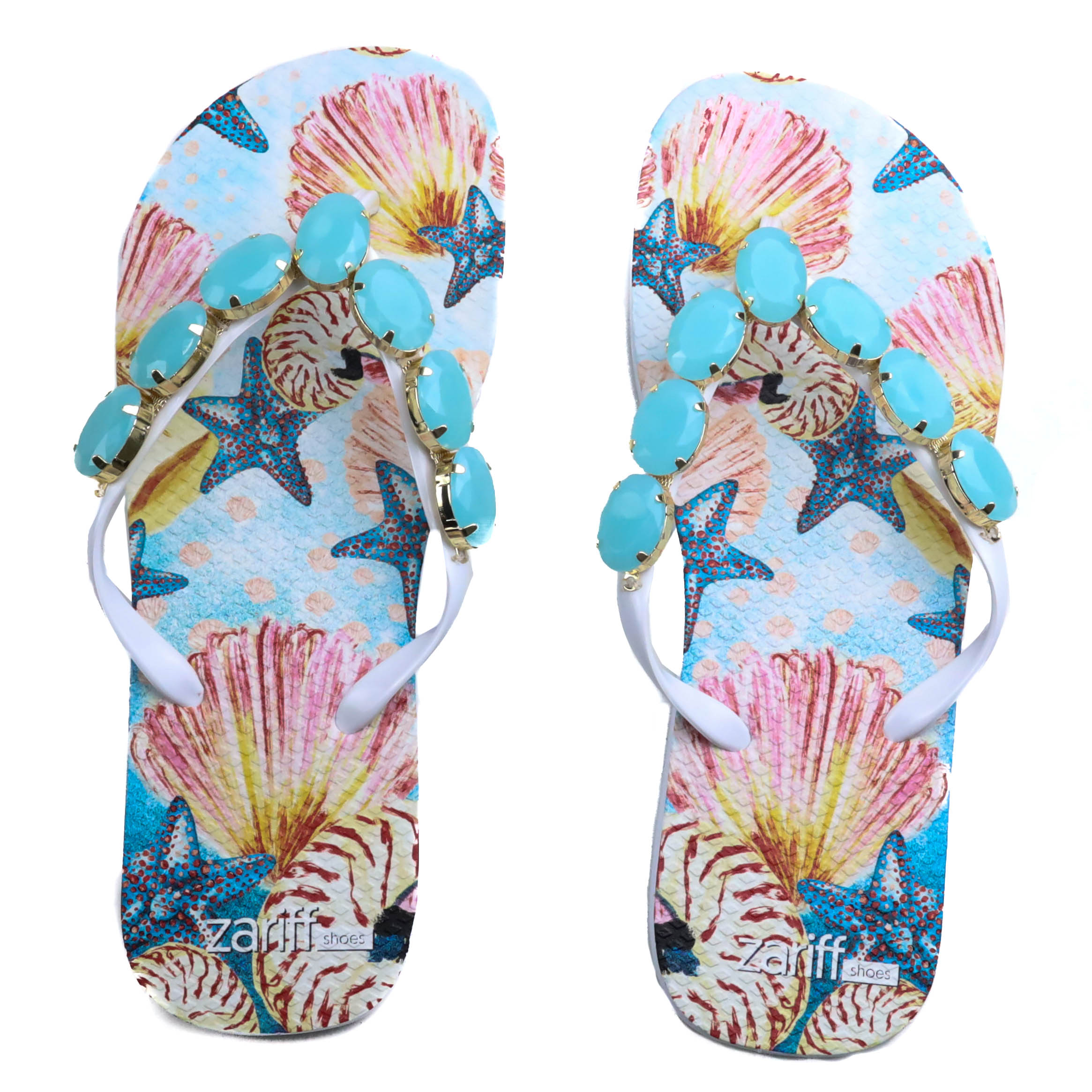 Chinelo Casual Zariff Estampa