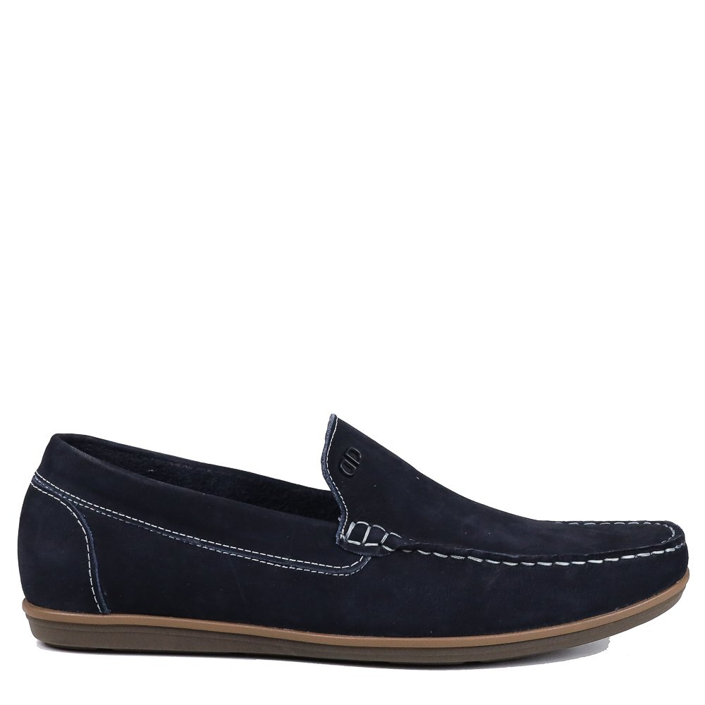 Sapato Mocassim Democrata Denim Tag