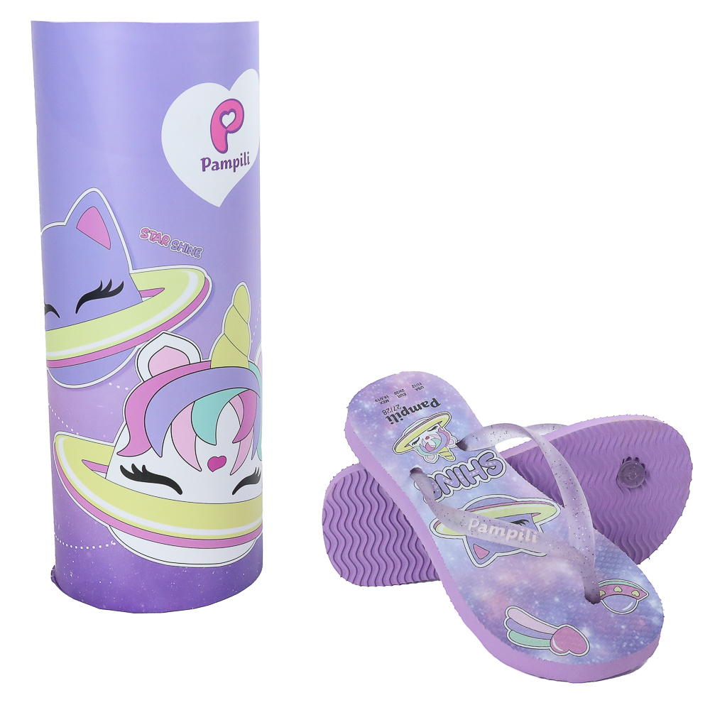Chinelo Infantil Pampili Love Galáxia