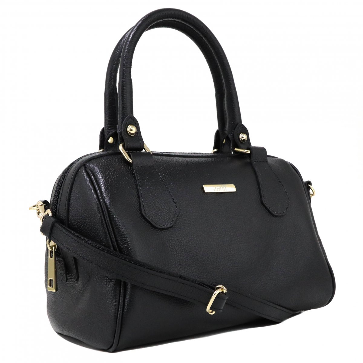 Bolsa Zariff Shoes Satchel Preto