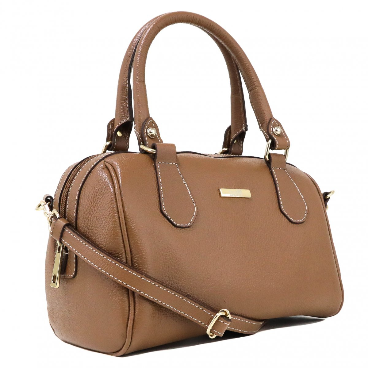 Bolsa Zariff Shoes Satchel Marrom
