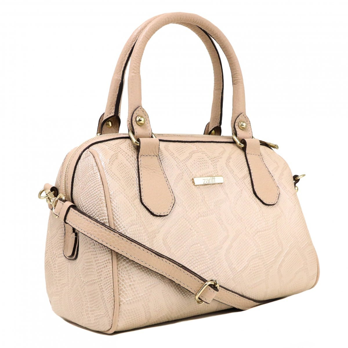 Bolsa Zariff Shoes Satchel Nude