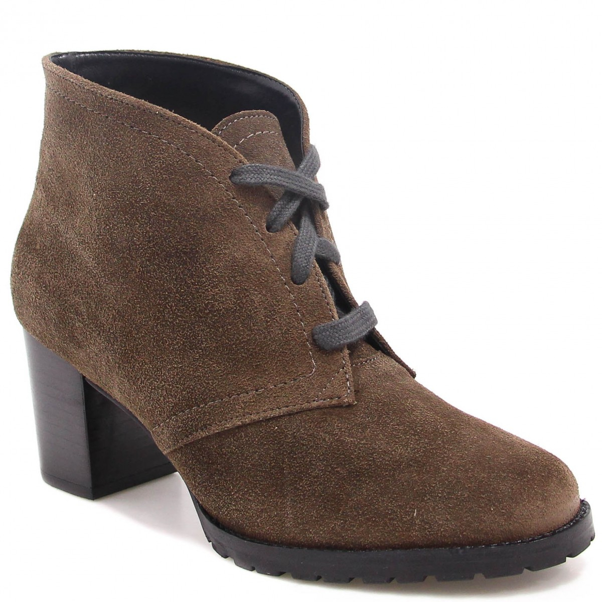 Bota Ankle Boot Zariff Shoes Salto Roxo