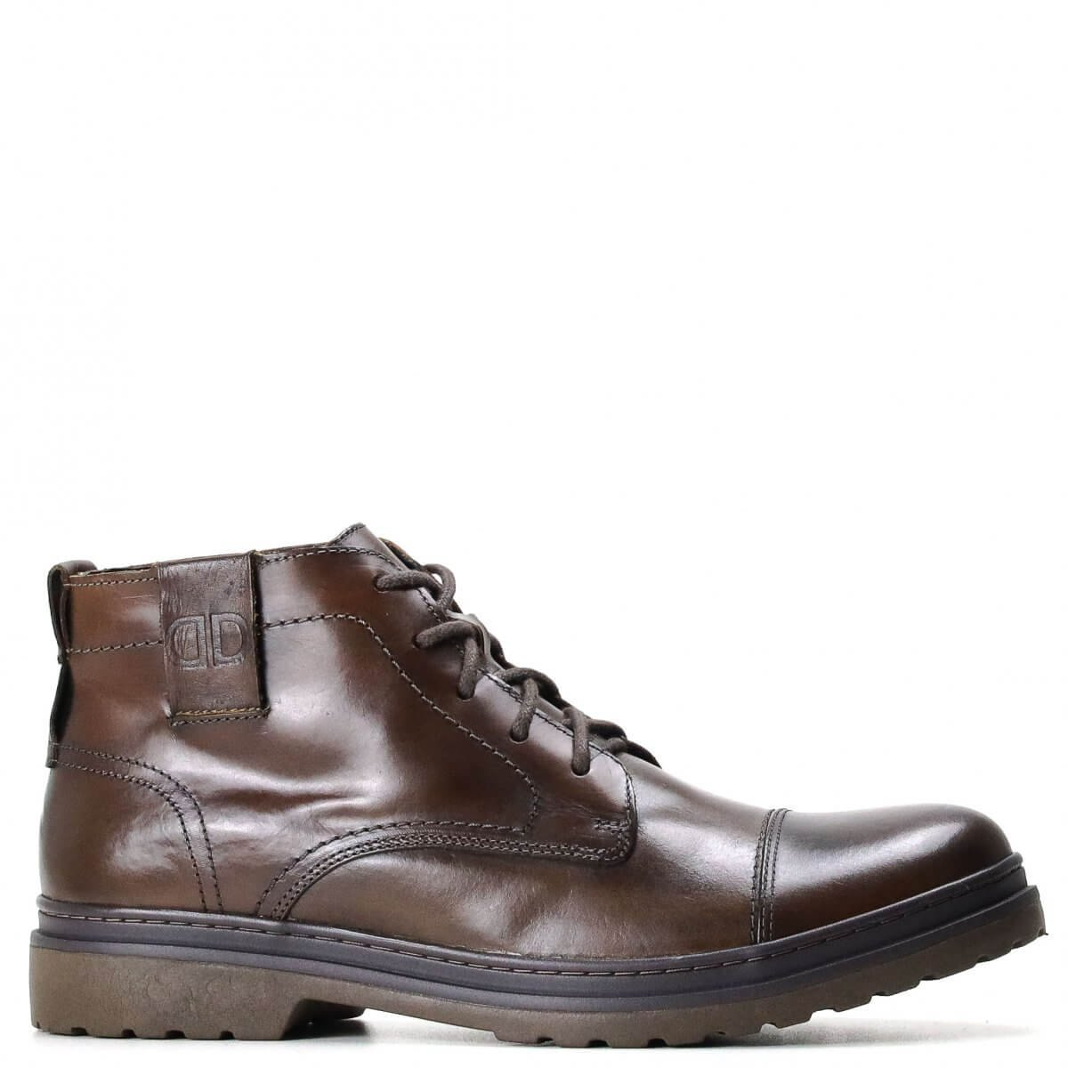 Bota Democrata Trooper Garage Marrom
