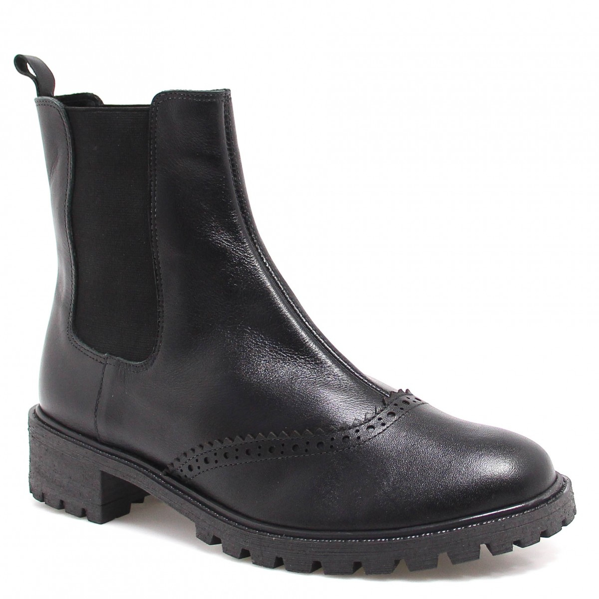 Bota Chelsea Zariff Shoes Oxford Preto