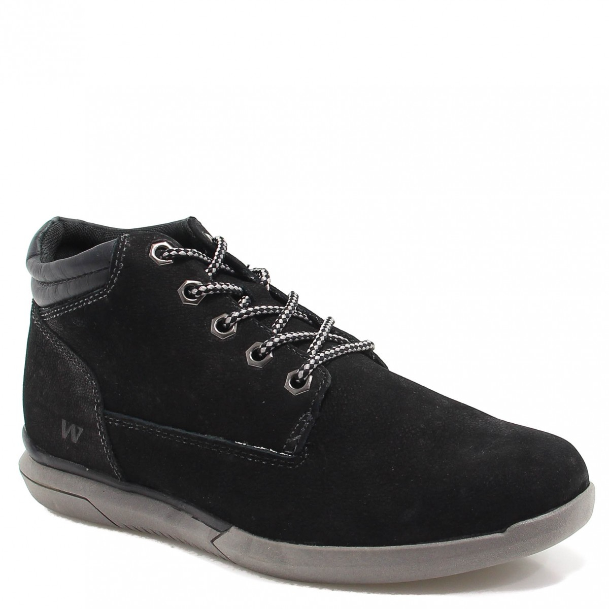 Bota West Coast Worker Brand Preto