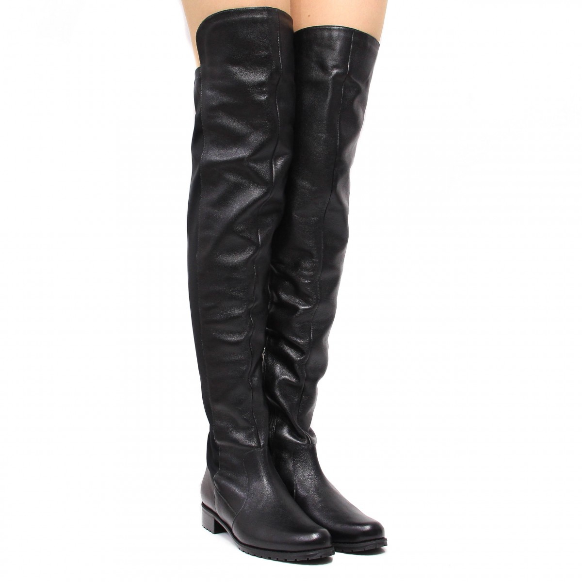 Bota Montaria Zariff Shoes Over The Knee Preto
