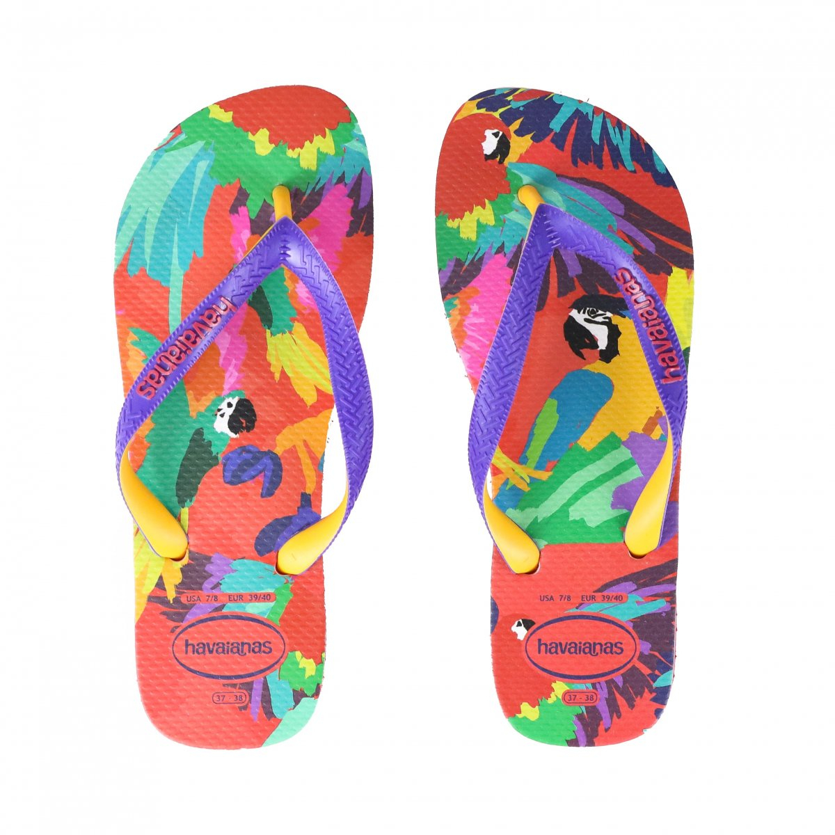Chinelo Casual Havaianas Top Fashion Roxo