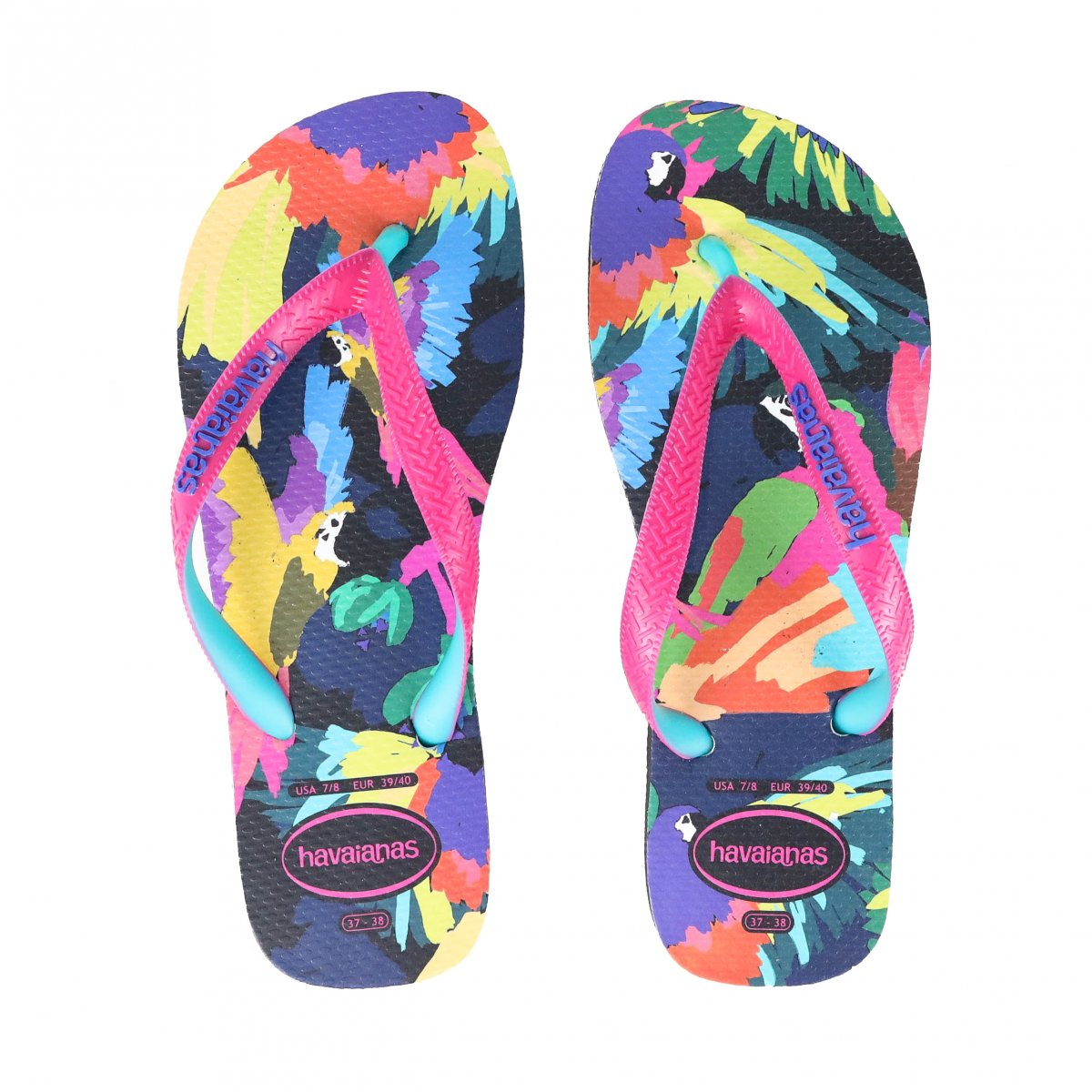 Chinelo Casual Havaianas Top Fashion Preto