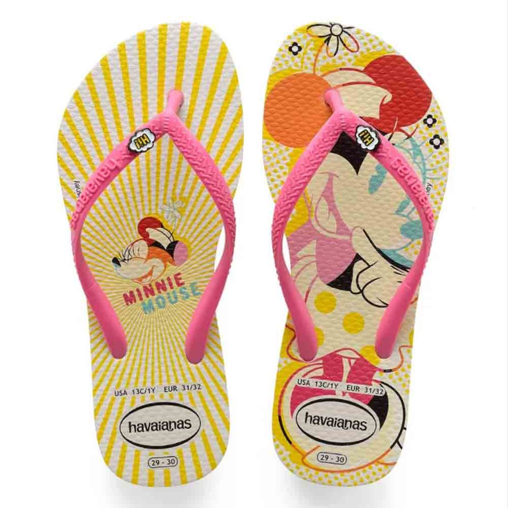 Chinelo Havaianas Infantil Minnie Disney Cool