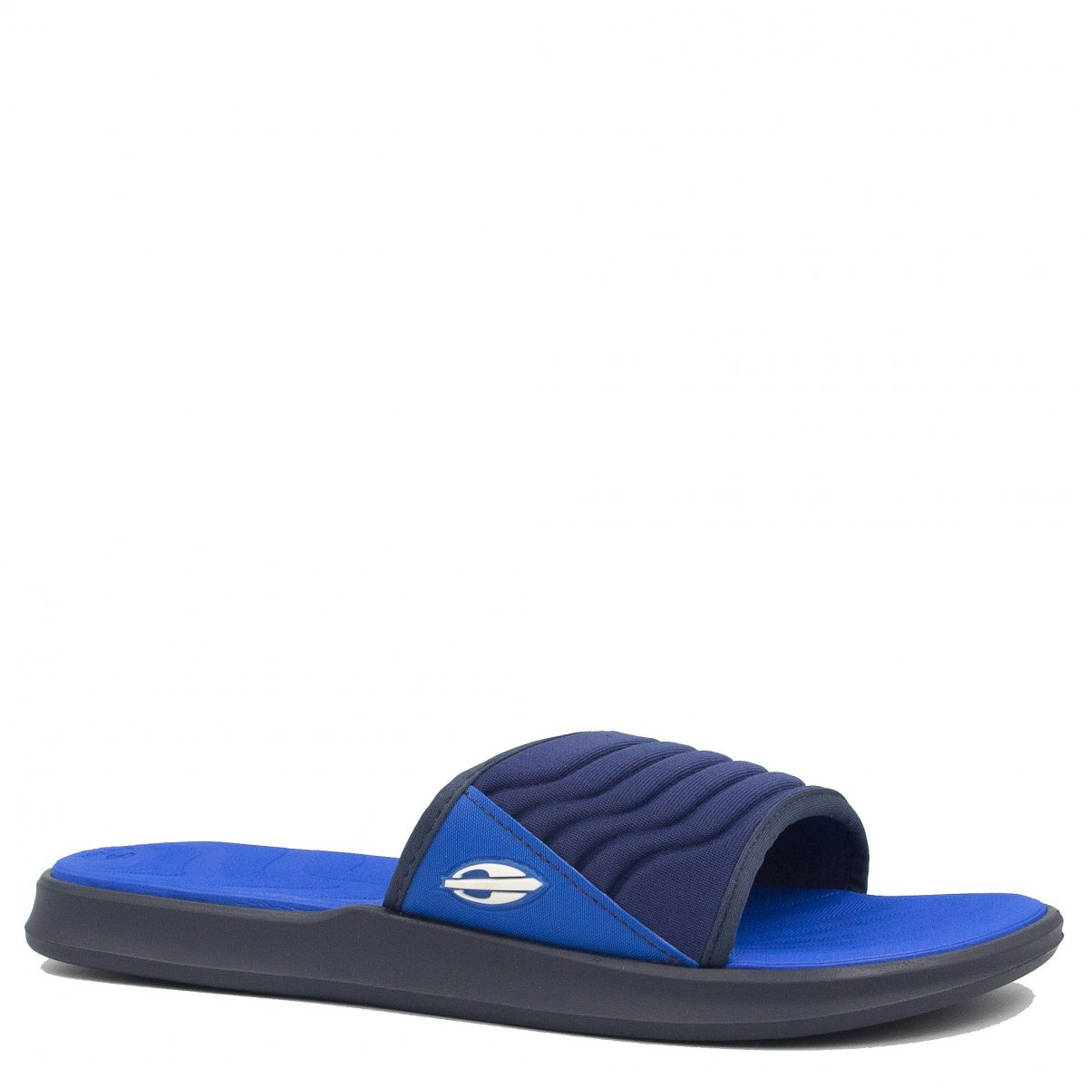 Chinelo Mormaii Slide Quiver Pro Azul