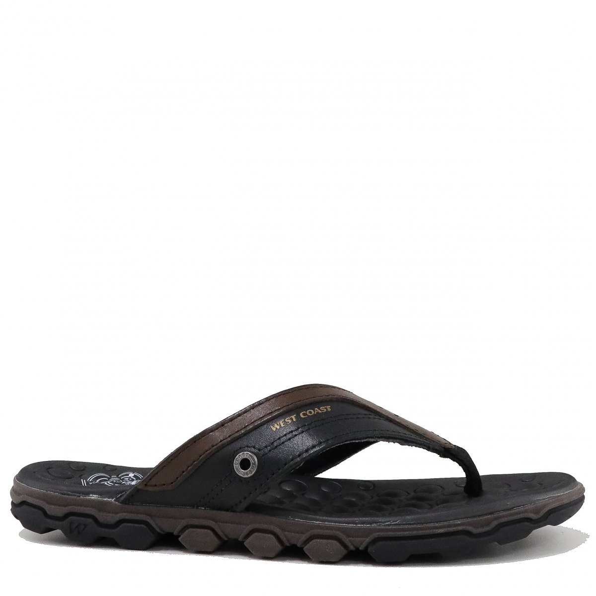 Chinelo West Coast Casual Preto