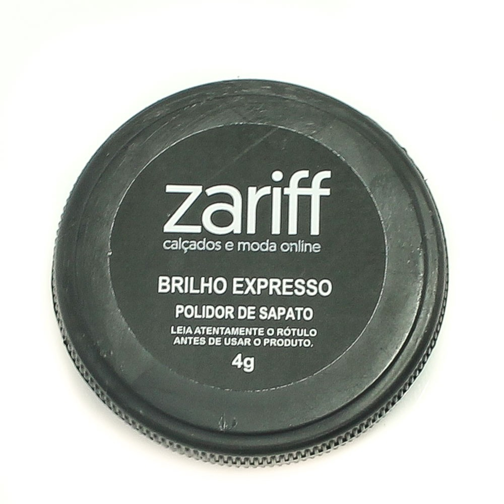 Polidor De Sapatos Zariff Shoes Branco
