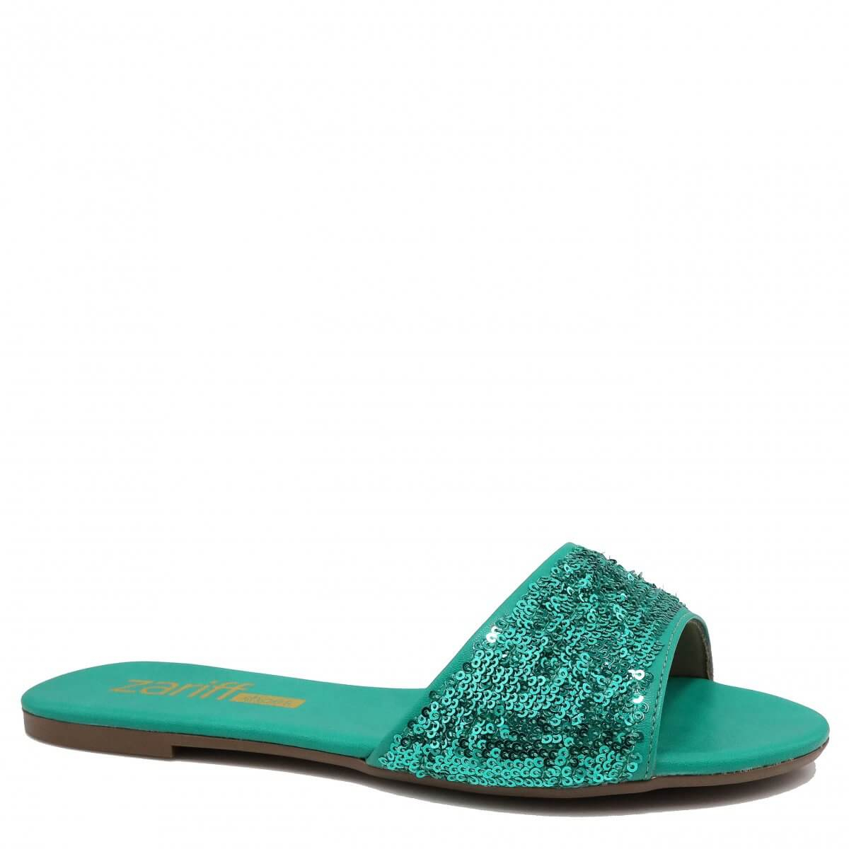 Rasteira Zariff Shoes Casual Verde