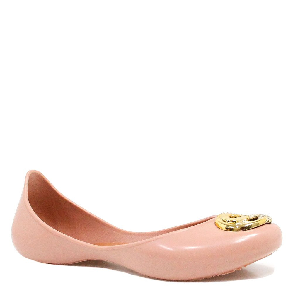Sapatilha Zariff Shoes Metal Borracha Nude