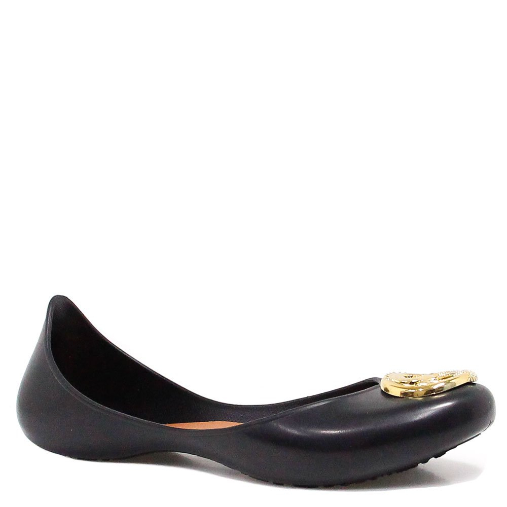 Sapatilha Zariff Shoes Metal Borracha Preto