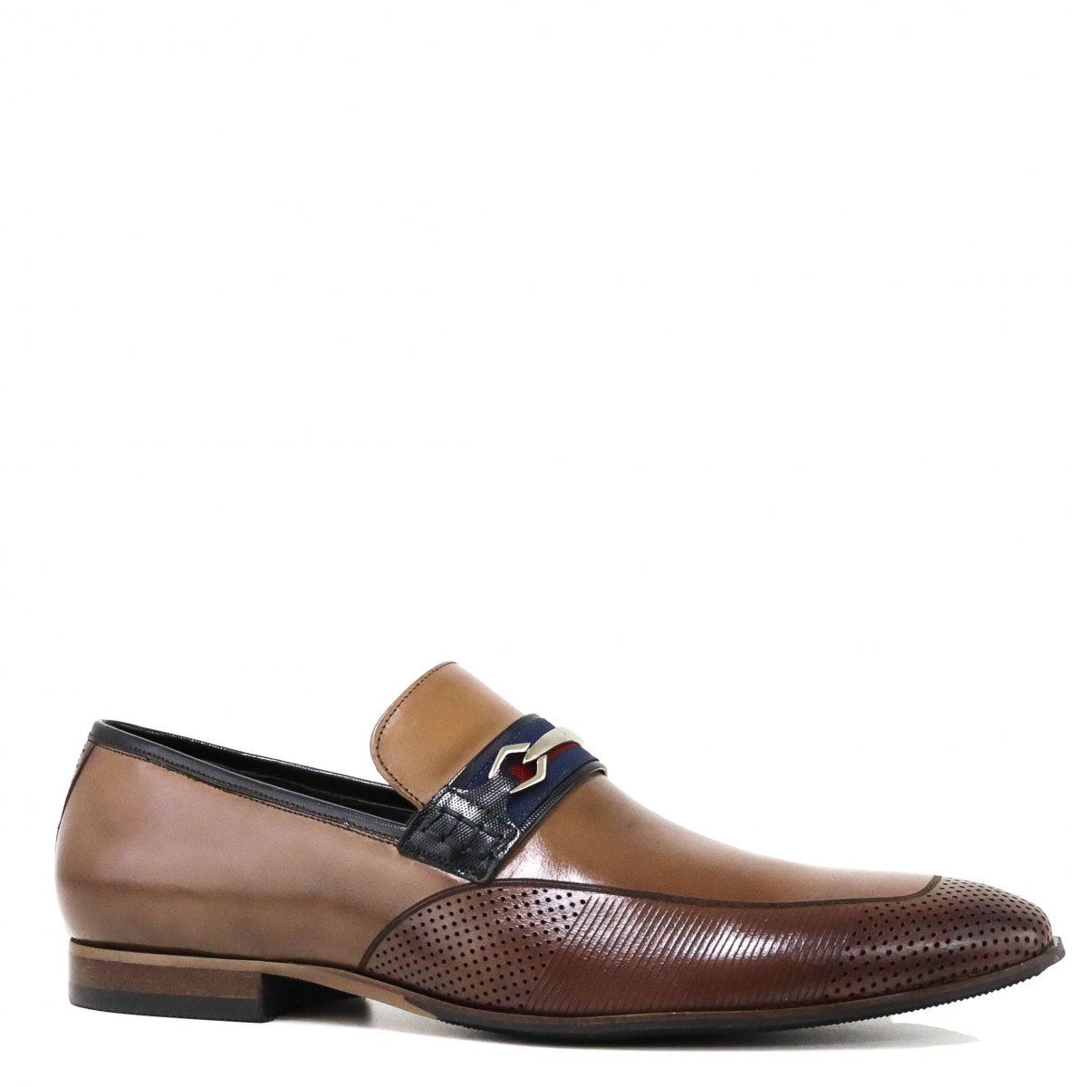 Sapato Zariff Shoes By Albanese Social Marrom