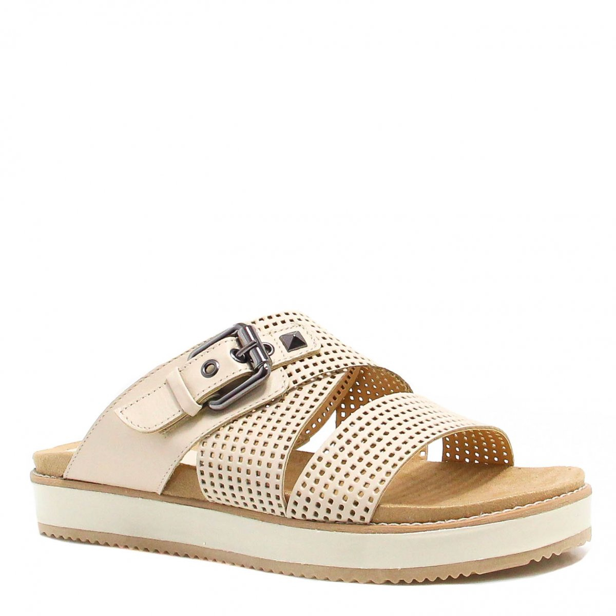 Tamanco Zariff Shoes Birken Fivela Branco