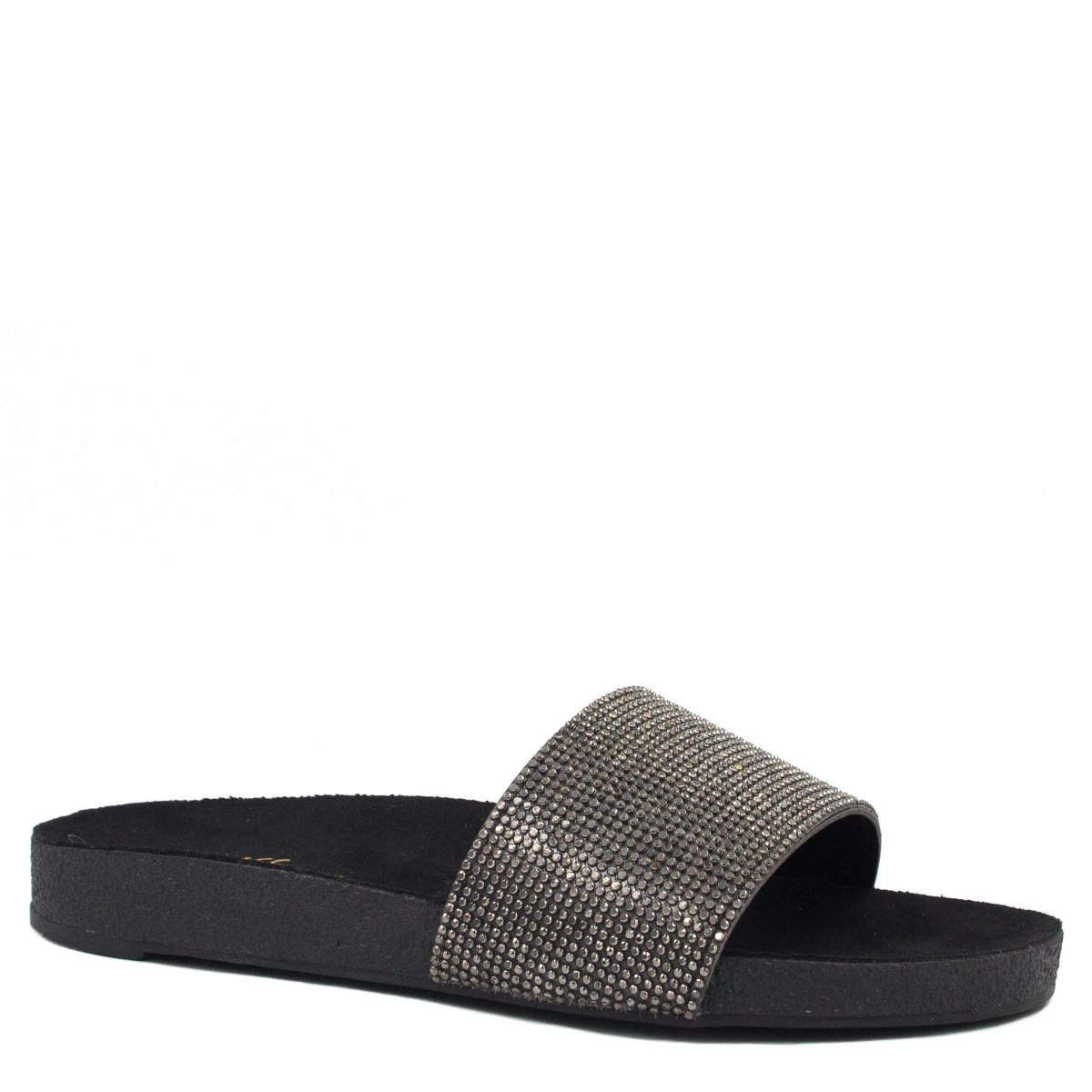Chinelo Slide Zariff Shoes Strass