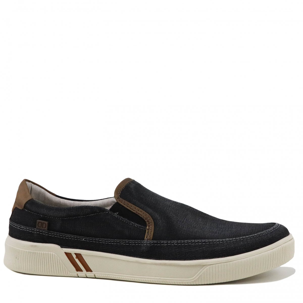 Tenis Democrata Urban Slip On Lona Preto