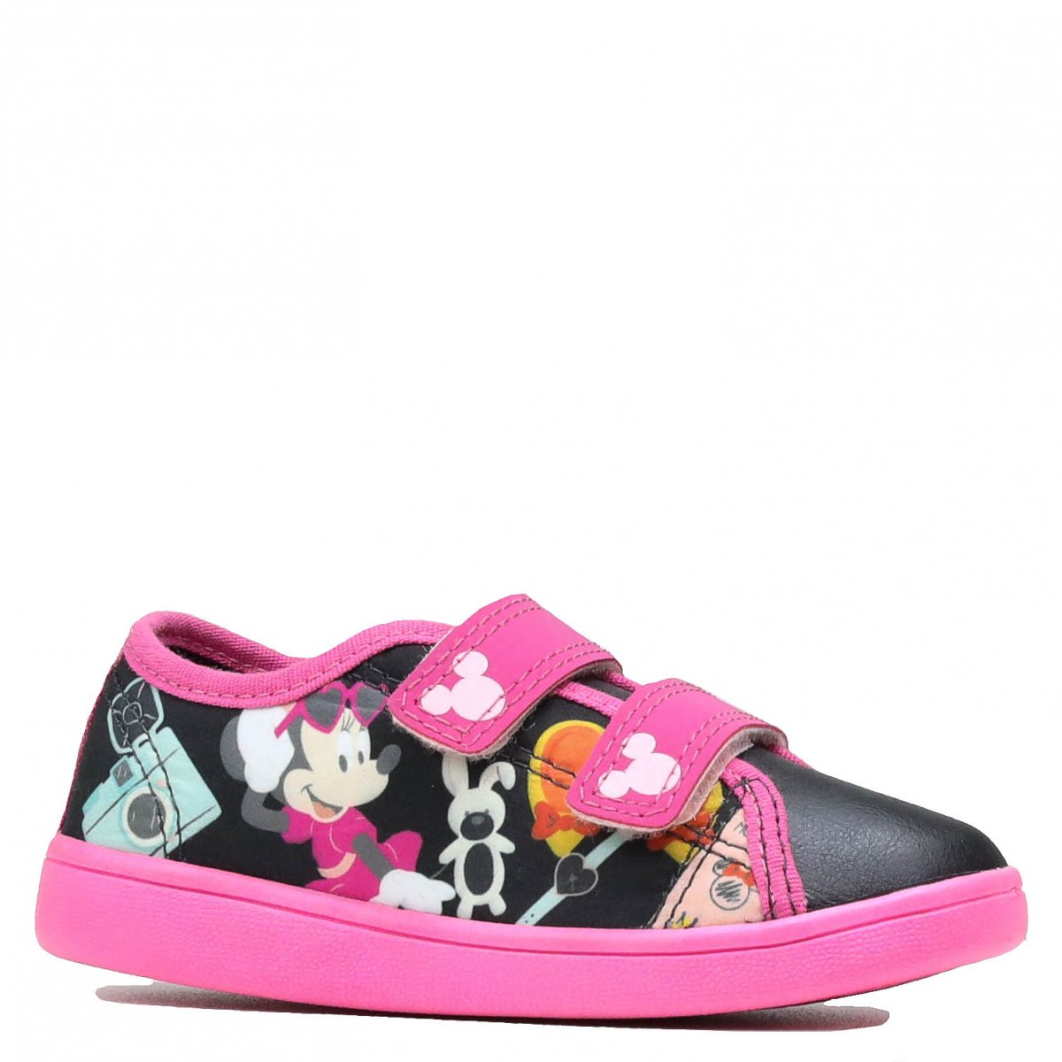 Tênis Disney Minnie Casual Preto