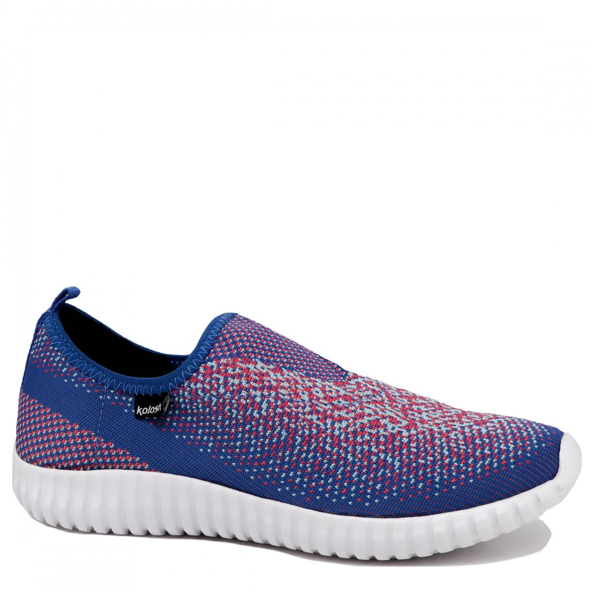 Tênis Kolosh Slip On Casual Azul