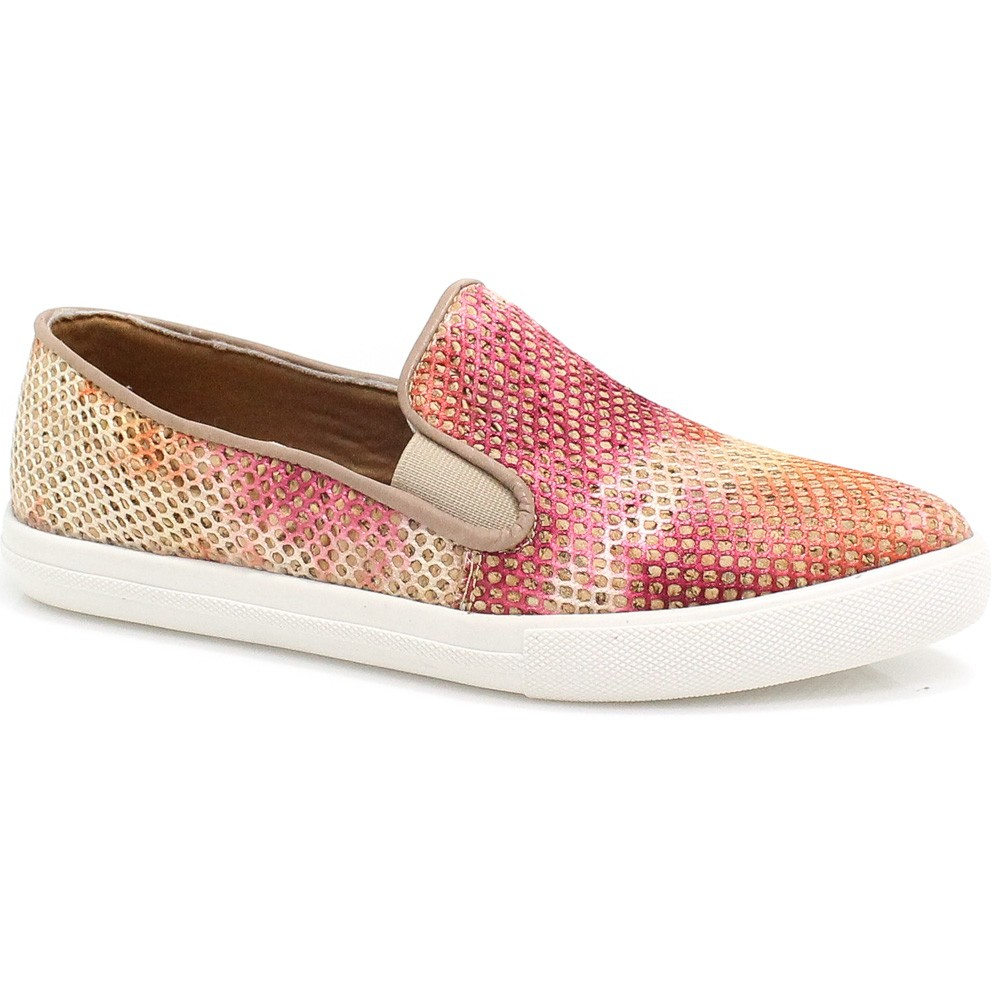 Tênis Zariff Shoes Slip On Iate Colorido