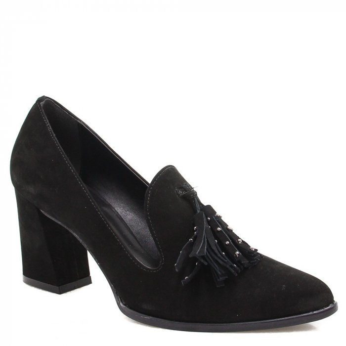 Sapato Mocassim Zariff Shoes Barbicacho Preto